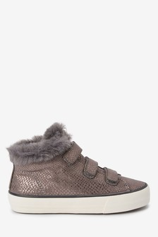 Touch Fastening Sparkle Boots