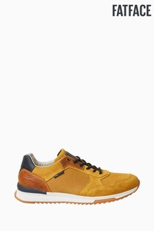 FatFace Mustard Leather Trainers