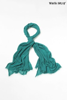 White Stuff Aqua Dreaming Away Scarf