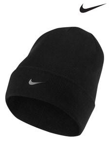 Черная шапка для взрослых Nike Swoosh