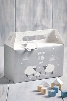 Unisex Sheep Folding Gift Box