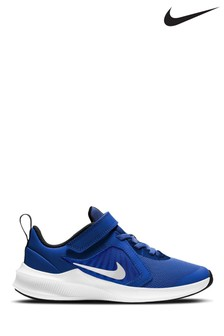 Nike Run Blue/White Downshifter 10 Junior Trainers