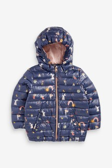 Shower Resistant Character Padded Jacket (3mths-10yrs)