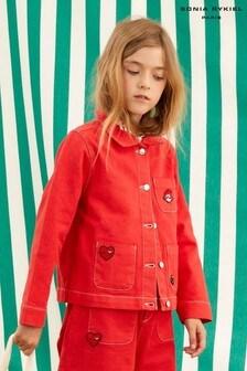 Красная джинсовая куртка Sonia Rykiel Paris