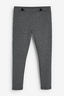 Check Ponte Trousers (3-16yrs)