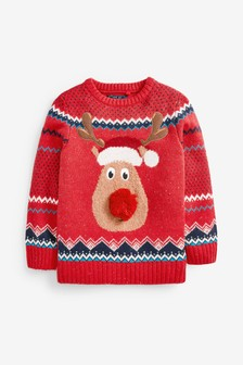 Rudolph Christmas Jumper (3-16yrs)