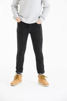 Вельветовые брюки скинни  (3-16 лет)