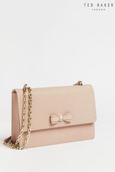 Ted Baker Pink Arttie Bow Cross-Body Bag