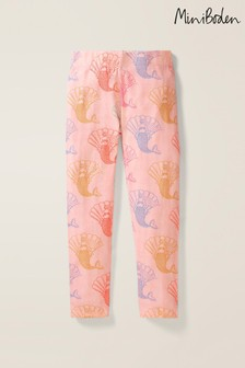 Boden Pink Fun Cosy Leggings
