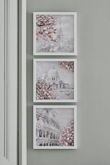 Set of 3 Blossom City Frames