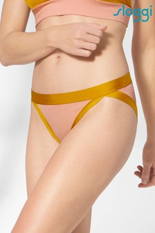 Sloggi Tan S Sundays High Leg Briefs