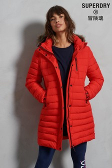 Superdry Red Fuji Jacket