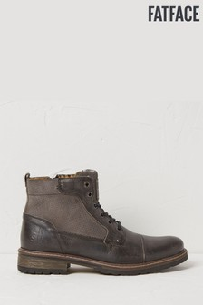 FatFace Grey Abbot Lace-Up Boots