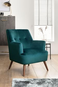 Carter Armchair With Mid Legs