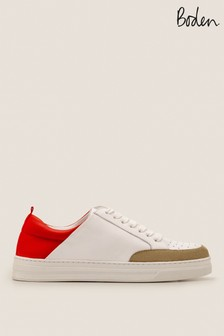 Boden Red Emily Trainers