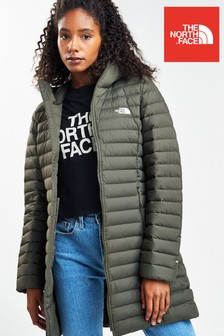 The North Face® Stretch Down Longline Padded Jacket