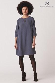Crew Clothing Company Blue Dandelion Dress