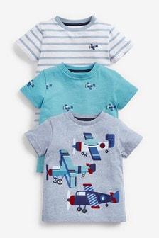 T-Shirts im 3er-Pack (3Monate bis 7Jahre)