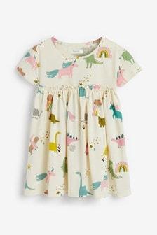 Kleid im Dino-Look