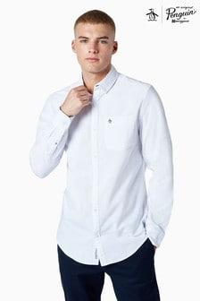 Original Penguin® White Cotton Oxford Shirt