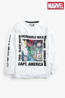 Marvel® Flippy Sequin Long Sleeve T-Shirt (3-16yrs)