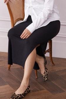 חצאית מקסי ג'רסי להיריון