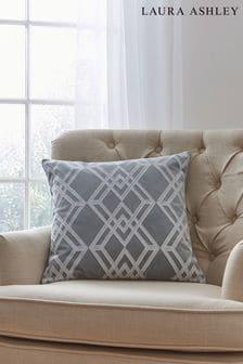 Laura Ashley Slate Maddison Cushion