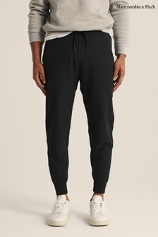 Abercrombie & Fitch Black Travel Joggers