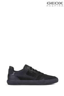 Geox Men's Kaven Black Sneakers
