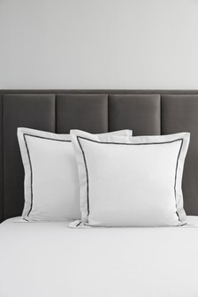 2 Pack 600 Thread Count 100% Cotton Pillowcases