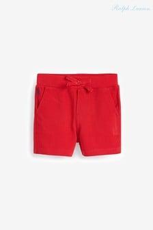 מכנסיים קצריםעם לוגו באדום של Ralph Lauren