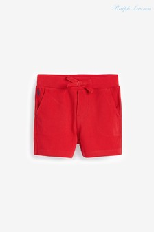 Ralph Lauren Shorts mit Logo, Rot