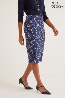 Boden藍色Kensington緊身裙