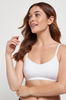 Daisy Organic Cotton Non Padded Wire Free Crop Bra