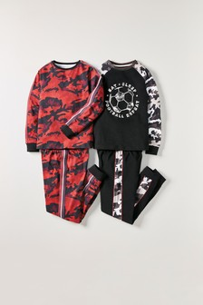 2 Pack Camouflage Pyjamas (3-16yrs)