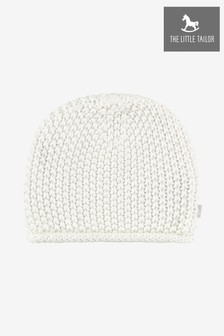 The Little Tailor Cream Baby Knitted Hat