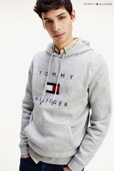 Tommy Hilfiger Grey Flag Hoody