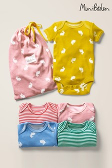 Boden Pink Summer Bodies Five Pack