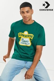 חולצת טי של Converse עם לוגו וינטג'