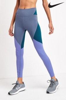 Legíny s barevnými díly Nike One