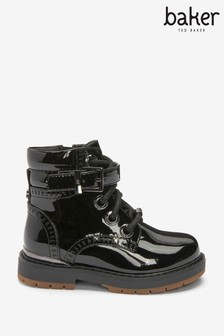 Baker By Ted Baker Patent Buckle Boots (239495)   $69