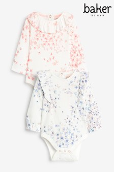 Lot de 2 bodies Baker by Ted Baker à volants