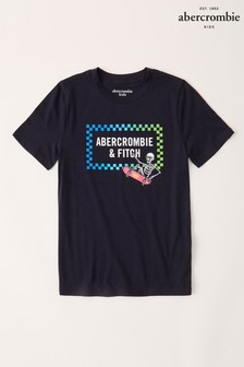Abercrombie & Fitch Navy Image Printed T-Shirt