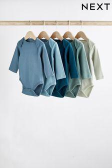 5 Pack Long Sleeve Bodysuits (0mths-3yrs) (239691)   $21 - $24