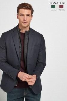 Italian Fabric Removable Gilet Blazer (239762) | $165