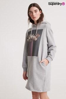 Superdry Photographic Fleece Sweat Dress