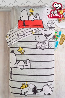 Peanuts™ Snoopy and Woodstock Duvet Cover and Pillowcase Set