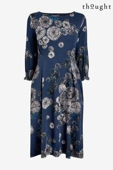 Thought Blue Volvenda Dress