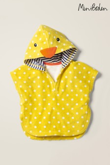 Mini Boden Yellow Towelling Throw-On