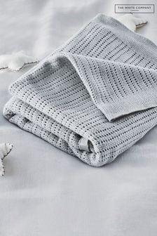 بطانية رمادي ستان منThe White Company